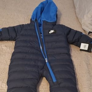 Nike Baby snowsuit, 6-9 months, New with tags